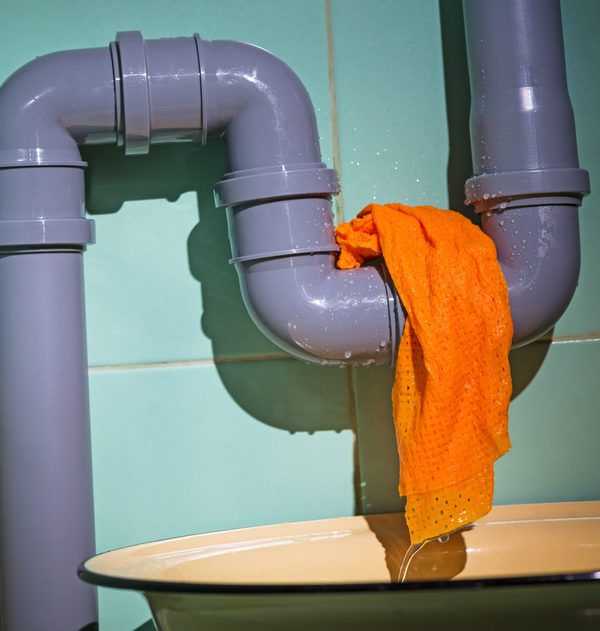 pipe leak